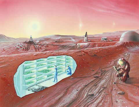 almost everything we need to live on mars is already there nasa