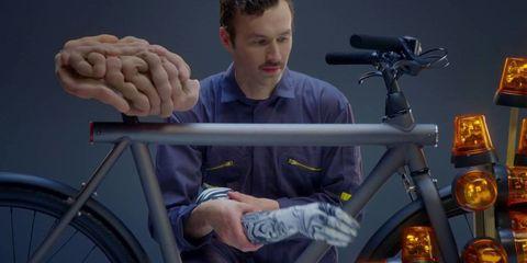 Bicycle tire, Bicycle wheel rim, Bicycle accessory, Bicycle, Bicycle wheel, Bicycle frame, Sitting, Bicycle handlebar, Bicycle part, Spoke,