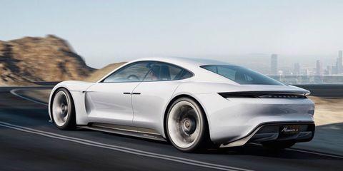 2020 Porsche Taycan Porsche Electric Car