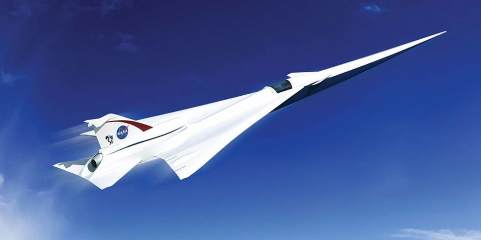 How NASA Wants To Build a Supersonic Plane Without the Boom