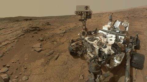 Curiosity May Try to Sample the Water on Mars