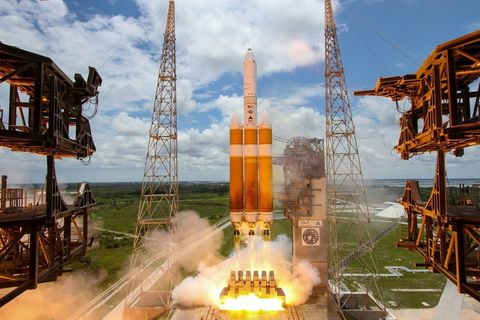 Rocket, Vehicle, Oil rig, Spacecraft, Jackup rig, Screenshot, Space, space shuttle, Games,