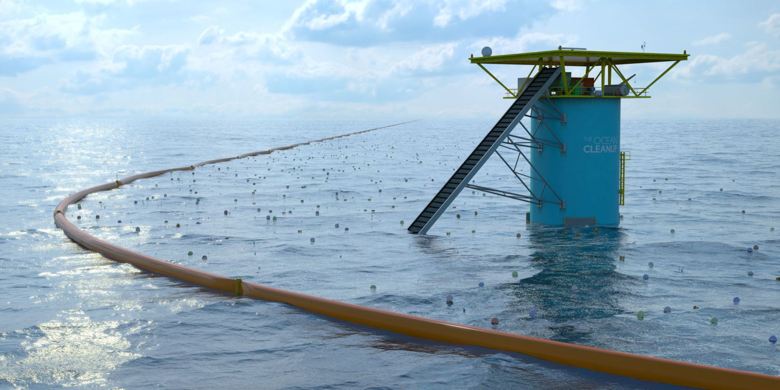 This Floating Screen Could Be the Best New Way to Clean Plastic From the Ocean