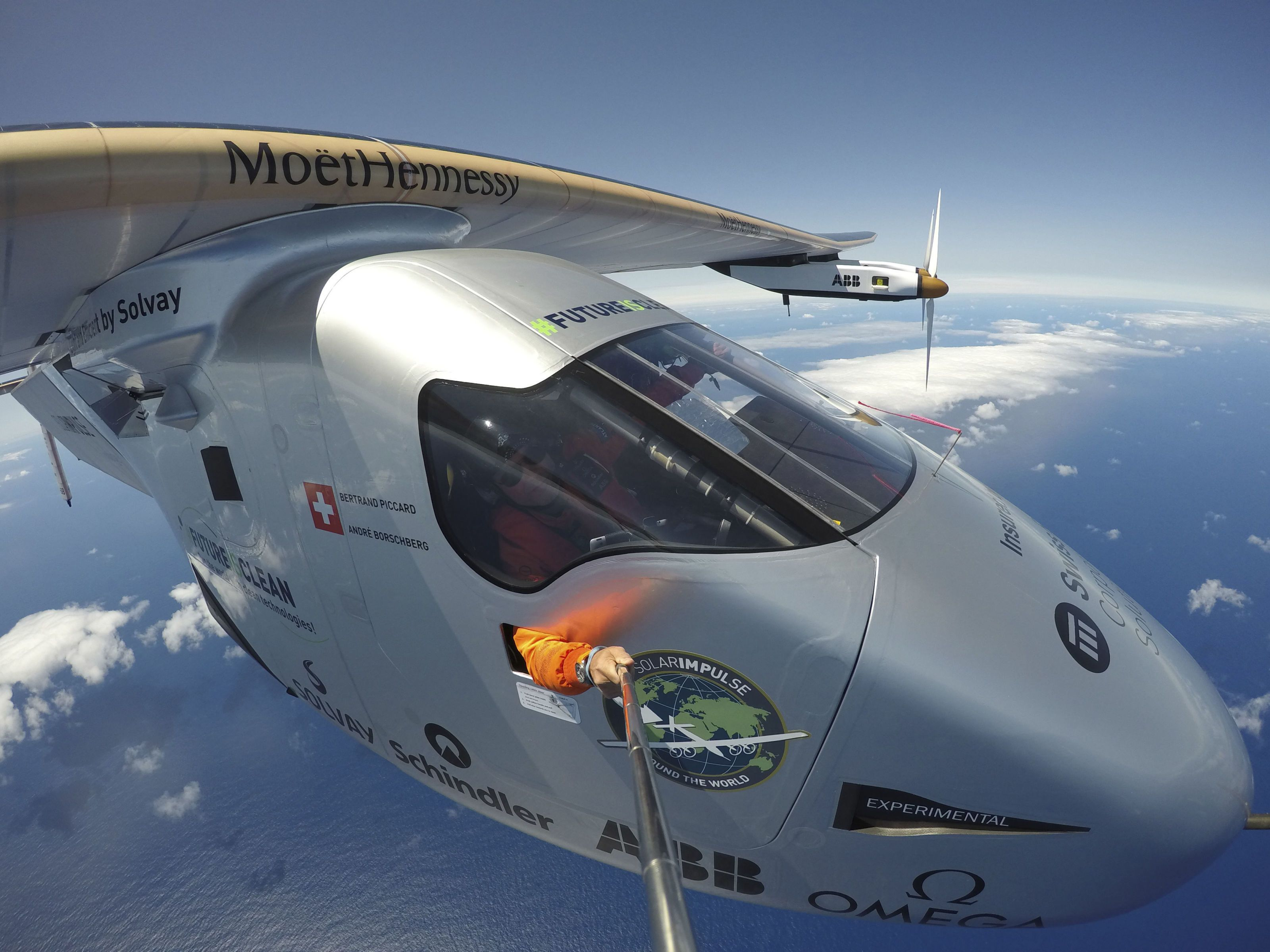 The Solar Plane Just Crossed the Atlantic Ocean