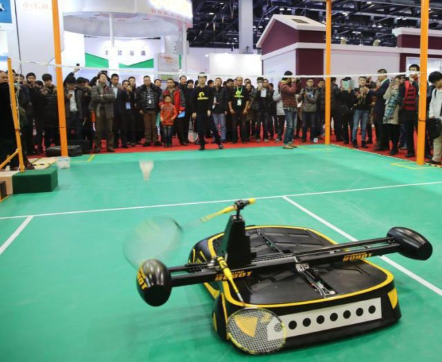 Finally, A Robot That Can Beat You at Badminton