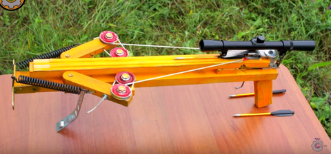Watch This DIY Compound Crossbow Come to Life