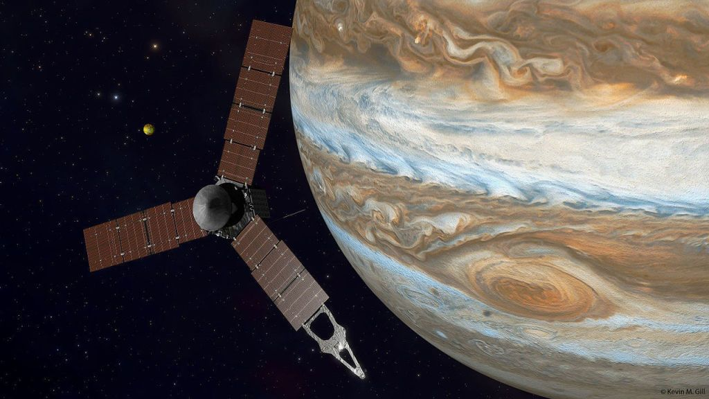 Listen to the Sound and Fury of Jupiter as Recorded by Juno