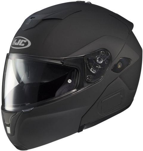 "<p>On the other hand, if you aren't on such a tight budget, more-expensive helmets offer extra features you'll probably appreciate. For example, <a href=""https://www.amazon.com/HJC-Helmets-Sy-Max-Helmet-Matte/dp/B005JHRTGC/ref=sr_1_9?s=automotive&ie=UTF8&qid=1467206131&sr=1-9&keywords=HJC+SY-MAX+helmet"" target=""_blank"">this HJC offers the versatility</a> of a modular design and has an integrated sun shield.</p>"