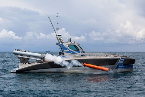 Submarines Beware: Here Come Tiny Robot Boats Armed With Torpedoes