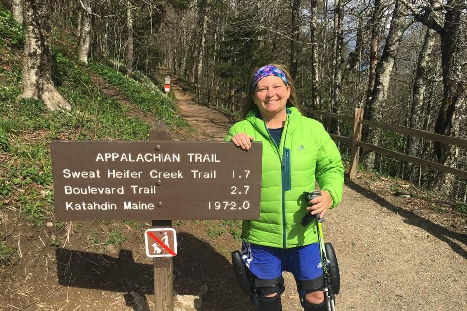 A Paralyzed Woman Is Hiking the Appalachian Trail Thanks to These Smart Leg Braces