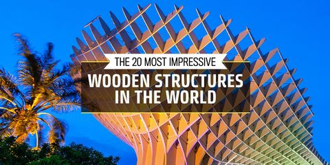 The 20 Most Impressive Wooden Structures in the World