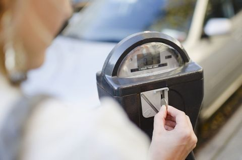Parking meter, Security, Steel,