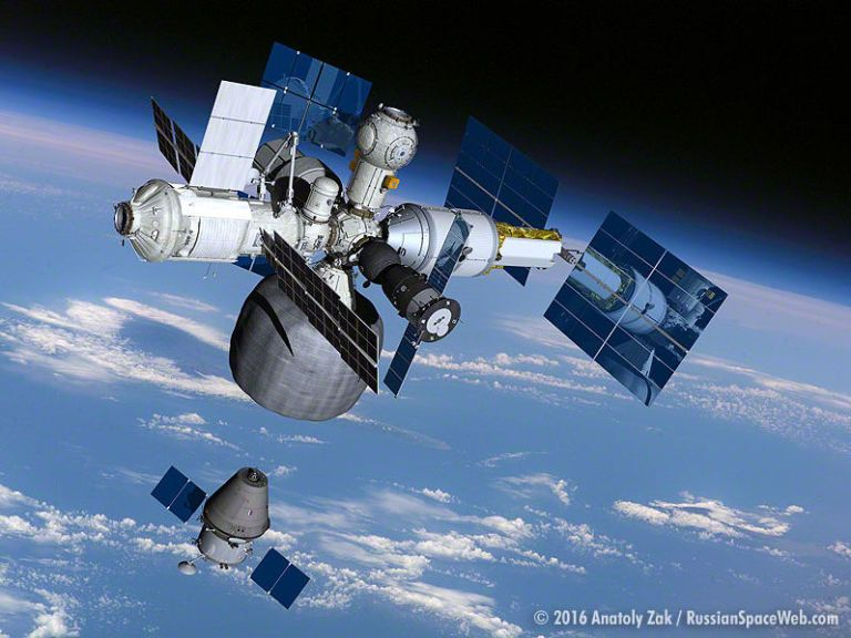 Russia's Plan To Spin Off a New Space Station From the ISS