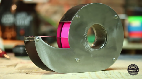 steel duct tape dispenser