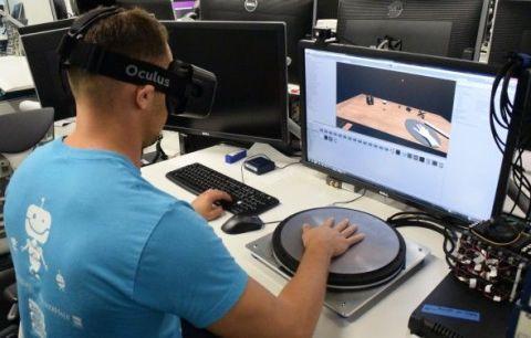 Oculus Rift's HapticWave