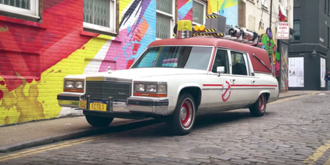 The New Ghostbusters ECTO-1 Gets More Attention Than Any Supercar