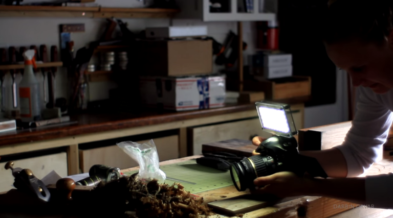 Make This Portable LED Light Panel and Take Better Pictures