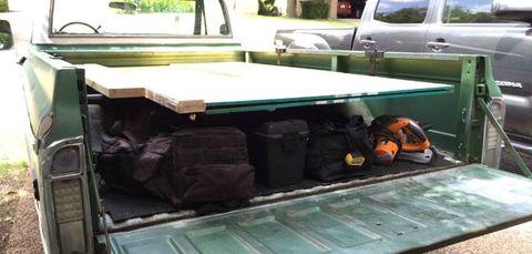 Plywood Truck Rack