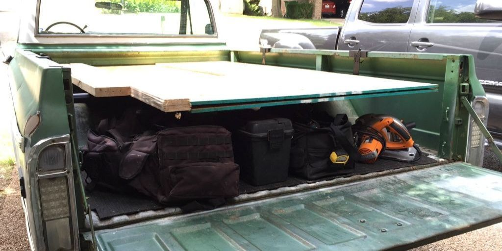 How To Build A Plywood Rack For Your Pickup Truck