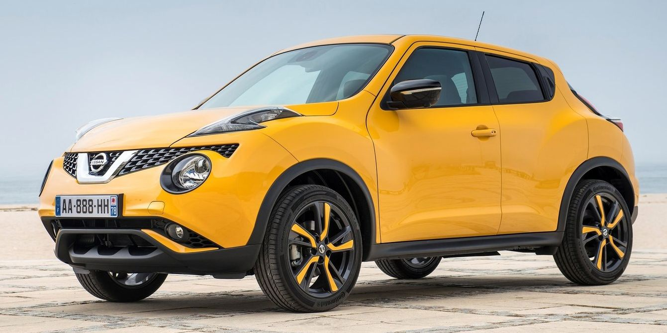 """<p>By now, it should be considered common knowledge that if you can get past <a href=""""http://www.roadandtrack.com/new-cars/news/a7717/five-things-learned-2014-nissan-juke-nismo-rs/"""" target=""""_blank"""">the Juke</a>'s funky looks, it's a surprisingly fun-to-drive little CUV. But if you get the all-wheel-drive version, <a href=""""http://www.caranddriver.com/nissan/juke"""" target=""""_blank"""">it's also pretty quick</a>. The only downside is that you can only get a manual transmission with the front-wheel-drive version.</p>"""