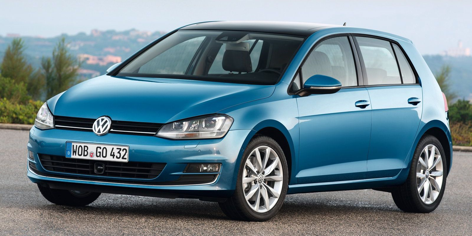 """<p>We'd love it if <a href=""""http://www.roadandtrack.com/new-cars/first-drives/reviews/a4322/first-drive-2015-volkswagen-gti-review/"""" target=""""_blank"""">the GTI</a> still made this list, but unfortunately, the days of a sub-$25,000 GTI have past. But what you <em>can</em> still get is a regular Golf with a manual. Pick either two or four doors, and you'll have an outstanding hatchback that will still <a href=""""http://www.caranddriver.com/volkswagen/golf"""" target=""""_blank"""">hit 60 mph in less than seven seconds</a>. </p>"""