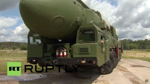 Russian Armageddon Convoy Practices for World War III