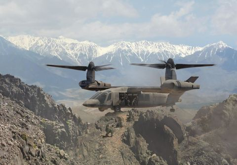 Aircraft, Aviation, Tiltrotor, Airplane, Vehicle, Military aircraft, Air force, Flight, Rotorcraft, Helicopter,