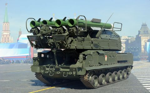 for sale the latest in russian tanks and air defense systems