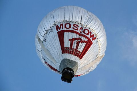 Daytime, Sky, Atmosphere, White, Hot air balloon, Aerostat, Leisure, Summer, Air sports, Outdoor recreation,