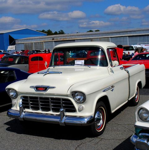 Gallery A Classic Chevrolet Pick Up Truck