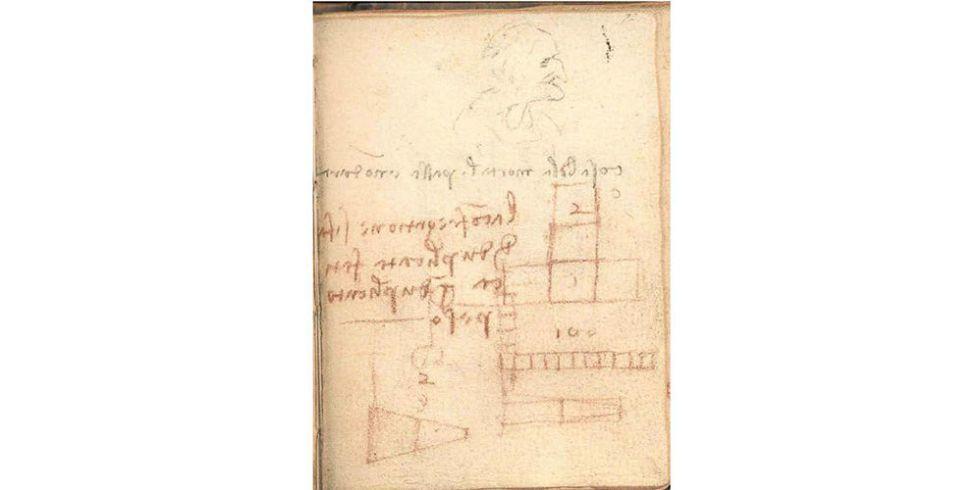 This da Vinci Doodle Holds a Secret