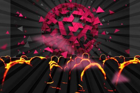 Red, Colorfulness, Orange, Magenta, Maroon, Graphics, Visual effect lighting, Graphic design, Neon,
