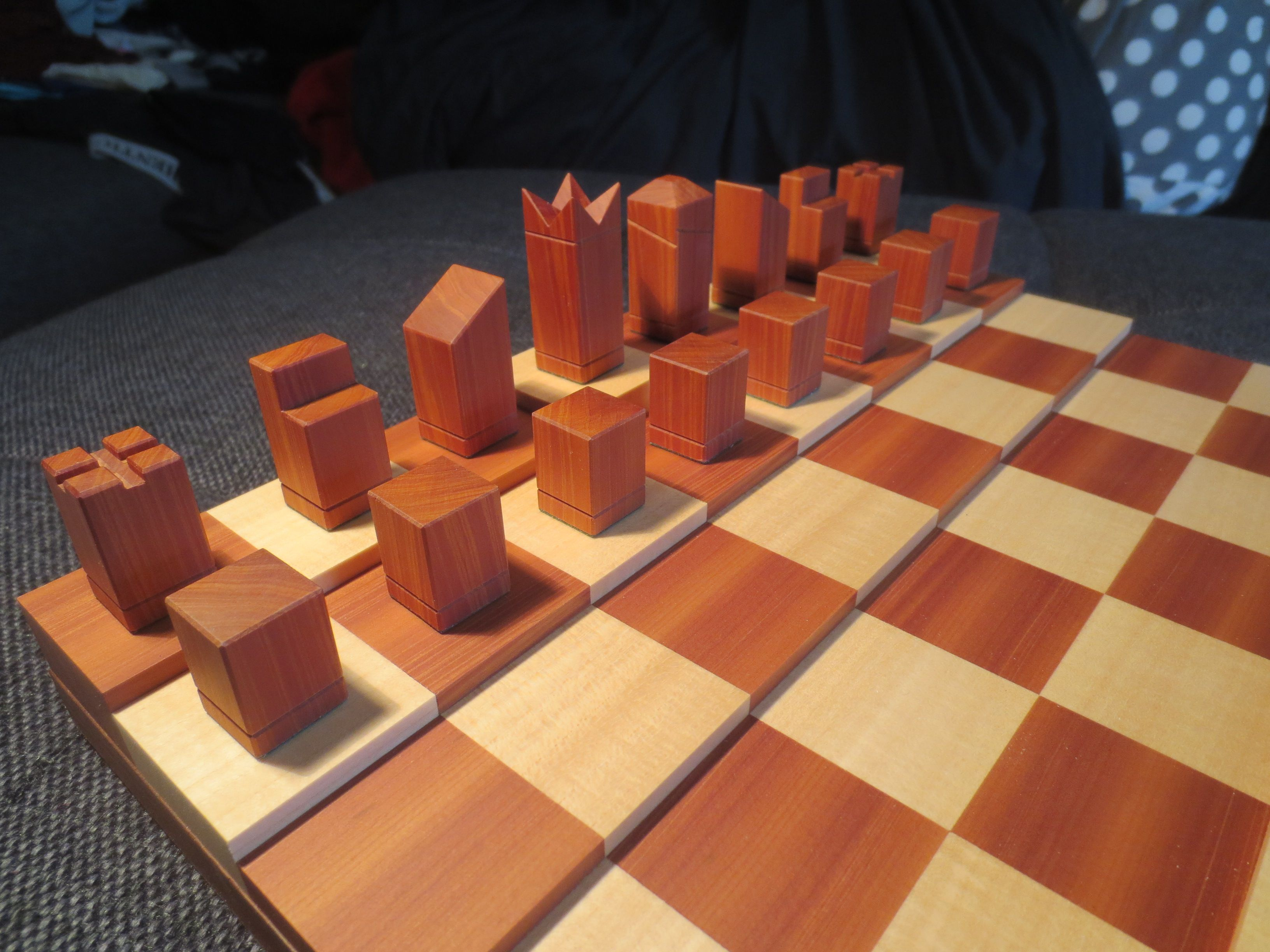 How To Make A Simple Yet Sophisticated Chess Set