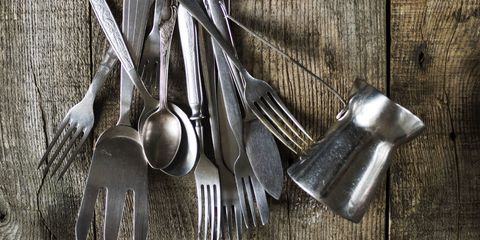 Kitchen utensil, Metal, Household hardware, Steel, Cutlery, Tool, Iron, Still life photography, Silver, Household silver,
