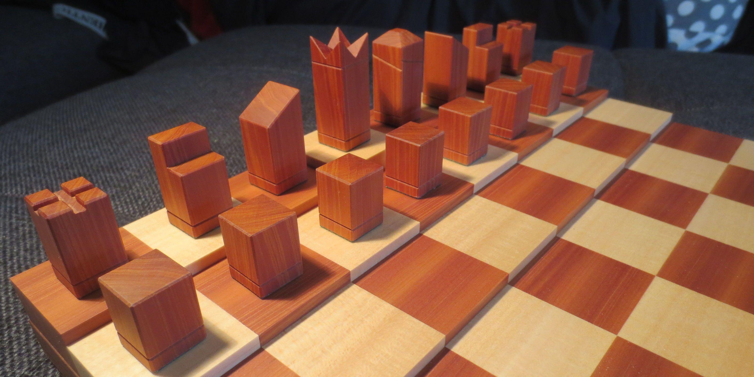Reddit/benjaab123. A Chess Set ...
