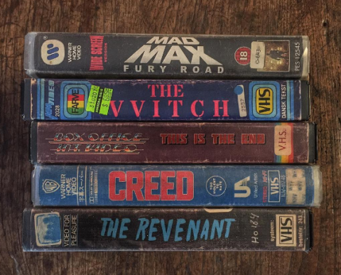 These VHS Covers for Modern Movies Will Make You Want a VCR