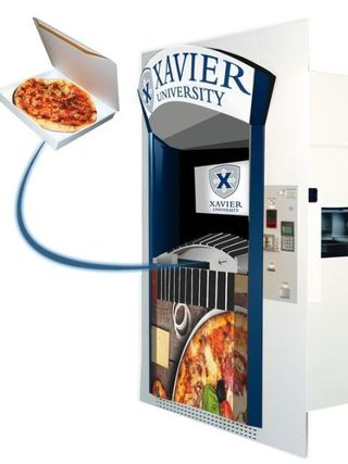 Ohio University To Get North American S First Pizza Atm