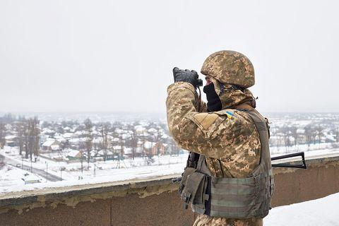 Ukrainian solider