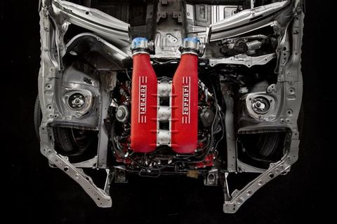 "<p>This build isn't even complete yet, but we'd be remiss if we didn't include it for its sheer audaciousness. Drifter Ryan Tureck is having the wild V8 from a Ferrari 458 <a href=""http://www.roadandtrack.com/car-culture/news/a29871/ferrari-458-v8-toyota-86/"" target=""_blank"">fit to a Toyota 86</a>, which might be one of the <a href=""http://www.roadandtrack.com/car-culture/entertainment/videos/a30164/heres-how-you-fit-a-ferrari-v8-in-a-toyota-86/"" target=""_blank"">most complicated engine swaps ever attempted</a>. We can't wait to see this in action.</p>"
