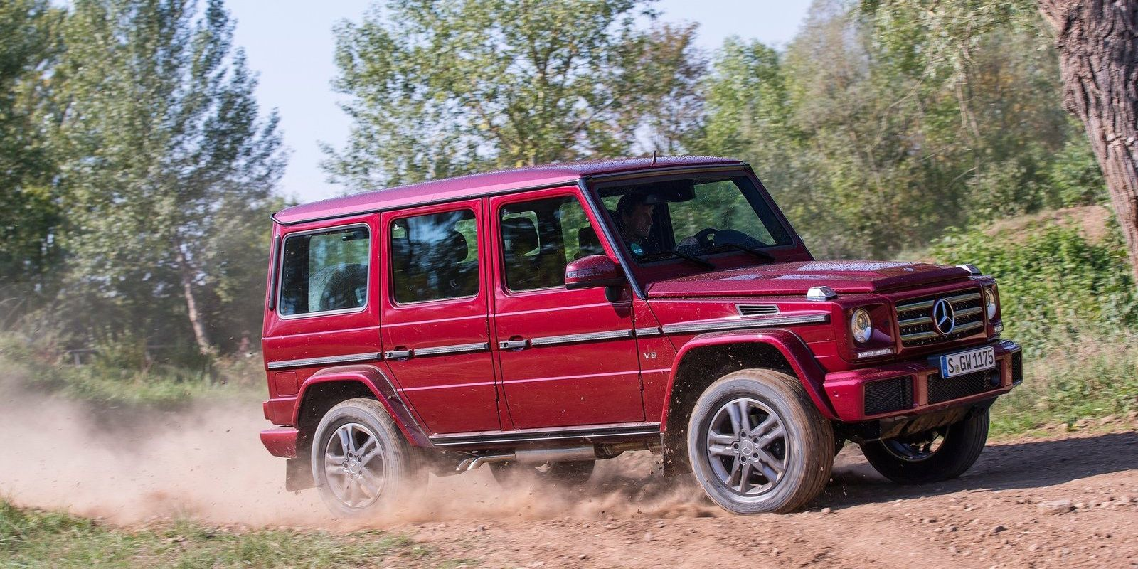 "<p>Yes, pricing for the <a href=""http://www.roadandtrack.com/new-cars/future-cars/news/a25678/2016-mercedes-g-class-gets-more-power-tiny-style-changes/"" target=""_blank"">Mercedes-Benz G550</a> starts at more than double the most expensive Wrangler, however, there's no arguing with its off-road abilities. With three locking differentials, there are very few places you can't go in a G-Wagen. Also like the wrangler, the G-Wagen is a true icon.</p>"