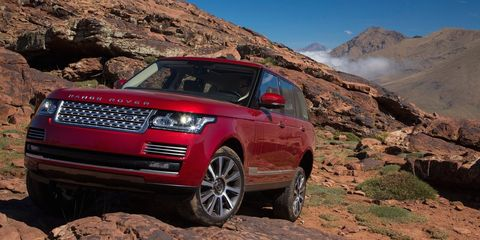 "<p>There is no car on the planet that offers such a compelling mix of luxury and serious off-road capability than the <a href=""http://www.roadandtrack.com/new-cars/road-tests/reviews/a6560/2014-land-rover-range-rover-hs3-otl/"" target=""_blank"">Range Rover</a>. Of course, few who own these actually take them off road, but they're missing out. It's as good, if not better on loose surfaces than in urban areas Range Rovers are usually found. </p>"