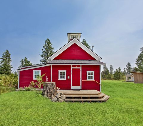 "<p>Spokane's ""Occident School"" was the last functioning one-room schoolhouse in Washington when it closed its doors in 1968. Today, it makes the grade as a one-bedroom residence.</p><p><em>Agent: Sam Hess; <a href=""http://www.windermere.com/"">windermere.com</a></em></p><p><em>Listing Price: $199,900</em></p><p><a href=""http://www.countryliving.com/real-estate/a39431/this-former-schoolhouse-is-enjoying-a-stylish-second-act/"" target=""_blank"">Take a look inside</a>.</p>"