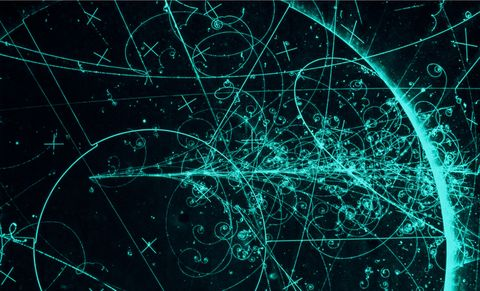 Neutrino Particle Tracks