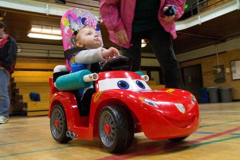 GoBabyGo car at Oregon State