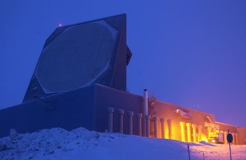 Ballistic Missile Early Warning System Site at Thule, Greenland