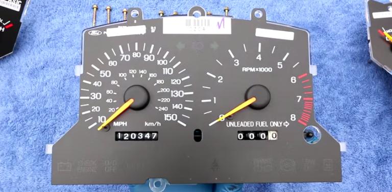 How To Fix A Broken Odometer. Lexus. 2000 Lexus Spedo Cluster Wiring At Scoala.co