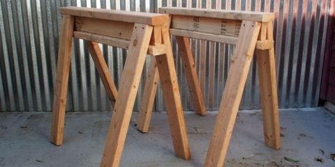 woodworking, sawhorses