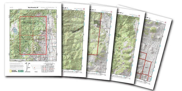 the new easy way to print topographic maps for free