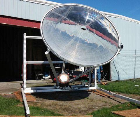 Solar Focusing Water Purification