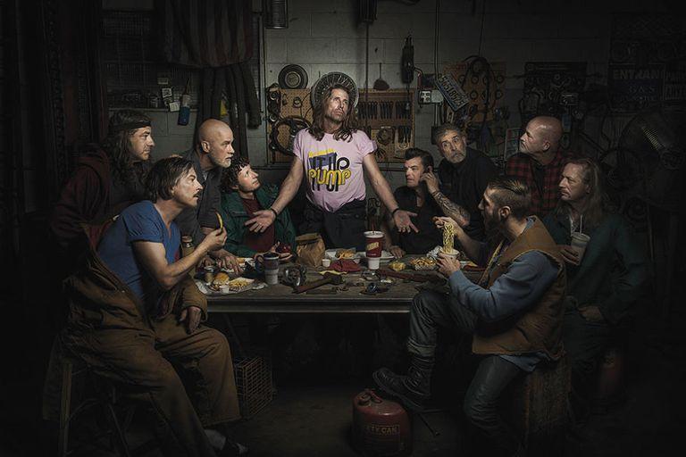 Freddy Fabris Renaissance Paintings Starring Auto Mechanics